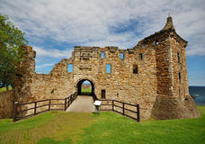 Castle of St. Andrews, Scotland royalty free stock photo