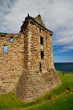 Castle of St. Andrews, Scotland. The ruins of the castle of St. Andrews in Scotland stock images
