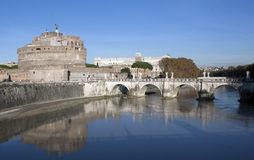 Castle St Angel, Rome Royalty Free Stock Photography