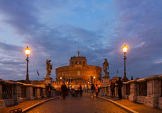 Castle st. Angelo, Rome, Italy Stock Images