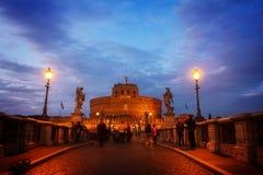 castle st. Angelo, Rome, Italy Stock Photos