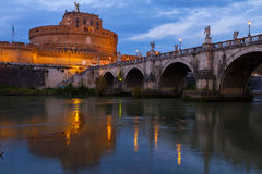 Castle st. Angelo, Rome, Italy Royalty Free Stock Photos