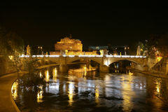 Castle St. Angelo, Rome. Royalty Free Stock Photo