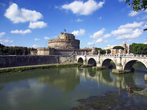 Castle St.Angelo, Rome Royalty Free Stock Photography