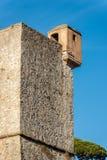 San Giorgio Castle - La Spezia Liguria Italy. Castle of St. George Castello San Giorgio 1265-XIX century, Genoan military fortification in La Spezia, Liguria royalty free stock photo