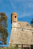 San Giorgio Castle in La Spezia Liguria Italy. Castle of St. George Castello San Giorgio 1265-XIX century, Genoan military fortification in La Spezia, Liguria royalty free stock image