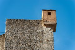 San Giorgio Castle in La Spezia Liguria Italy. Castle of St. George Castello San Giorgio 1265-XIX century, Genoan military fortification in La Spezia, Liguria stock photography