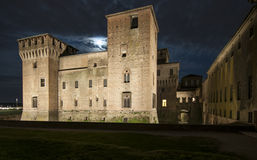 Castle of st george night mantua lombardy italy europe Stock Photo