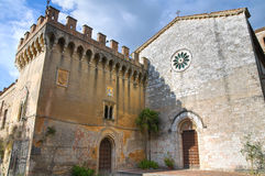 Castle of St. Girolamo. Narni. Umbria. Italy. Royalty Free Stock Photos