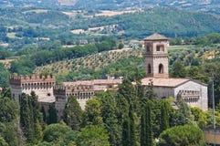 Castle of St. Girolamo. Narni. Umbria. Italy. Royalty Free Stock Photo