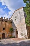 Castle of St. Girolamo. Narni. Umbria. Italy. Royalty Free Stock Photography