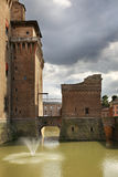 Castle of St. Michael - Castello Estense in Ferrara. Italy Royalty Free Stock Photography