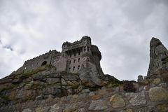 Castle - St Michael`s Mount Royalty Free Stock Photo