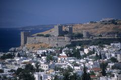 Castle of St. Peter, Templar fortress Stock Photography