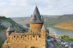 Castle Stahleck above the rhine, Bacharach, Stock Photography
