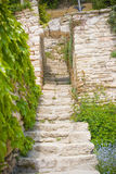 Castle staircase Royalty Free Stock Photo