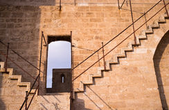 Castle staircase Royalty Free Stock Image
