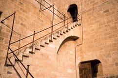 Castle staircase Stock Photo