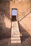 Castle staircase Stock Image