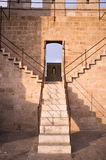 Castle staircase Royalty Free Stock Photography
