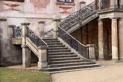 Castle staircase Stock Photography
