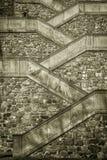 Castle stairs Bratislava Royalty Free Stock Photos