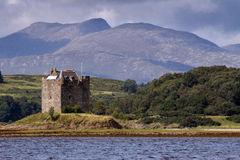 Castle Stalker Royalty Free Stock Photo