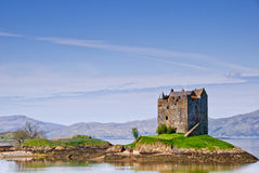 Castle Stalker Royalty Free Stock Photography