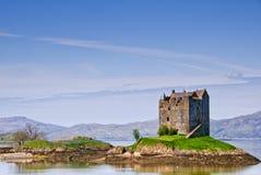 Castle Stalker. Castle Stakler inScotlands western highlands Royalty Free Stock Photography