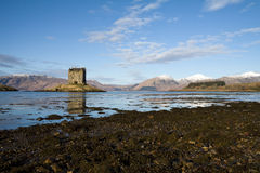 Castle Stalker, Argyll, Scotland Stock Photography