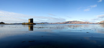 Castle Stalker, Argyll, Scotland, High Resolution Stock Photography