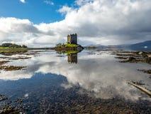 Castle stalker in Argyll - Scotland, UK. Castle stalker in Argyll - Highlands of Scotland, UK stock photo