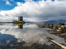 Castle stalker in Argyll - Scotland, UK. Castle stalker in Argyll - Highlands of Scotland, UK stock photography