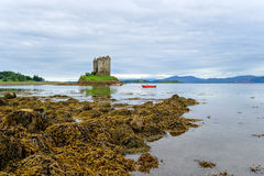 Castle Stalker Royalty Free Stock Photography