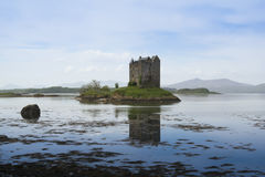 Castle stalker loch linnhe highlands scotland Stock Images