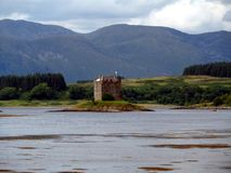 Castle Stalker Scotland Royalty Free Stock Image