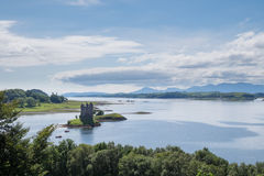 Castle Stalker, Scotland Stock Photography