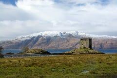 Castle Stalker, Scottland Royalty Free Stock Images