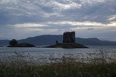 Castle Stalker stock photo