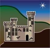 Castle star Royalty Free Stock Photos