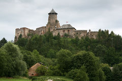 Castle - Stara Lubovna Stock Photo
