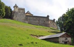Castle Stara Lubovna, Slovakia, Europe Stock Image
