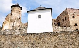 Castle Stara Lubovna, Slovakia, Europe Stock Images