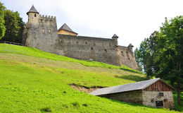 Castle Stara Lubovna, Slovakia, Europe Royalty Free Stock Photos
