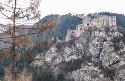 Castle STARY HRAD, Slovakia Stock Photos