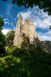 Castle Stary Rybnik. The ruins of the castle Stary Rybnik near Cheb in the Czech Republic Stock Image