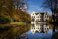 Castle Staverden το φθινόπωρο Στοκ Φωτογραφίες