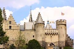 Castle Steen in Antwerp, Belgium Royalty Free Stock Image