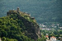 Castle Střekov Stock Photography