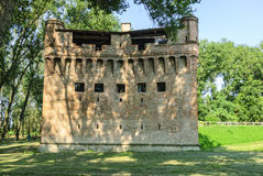 Castle of Stellata. Stellata (Ferrara, Emilia Romagna, Italy) - Ancient castle Royalty Free Stock Photography